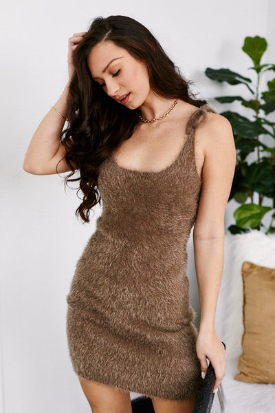 fab'rik - Tessa Sleeveless Sweater Dress image thumbnail