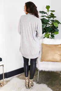 Z Supply Marled Sweater Knit Cardigan
