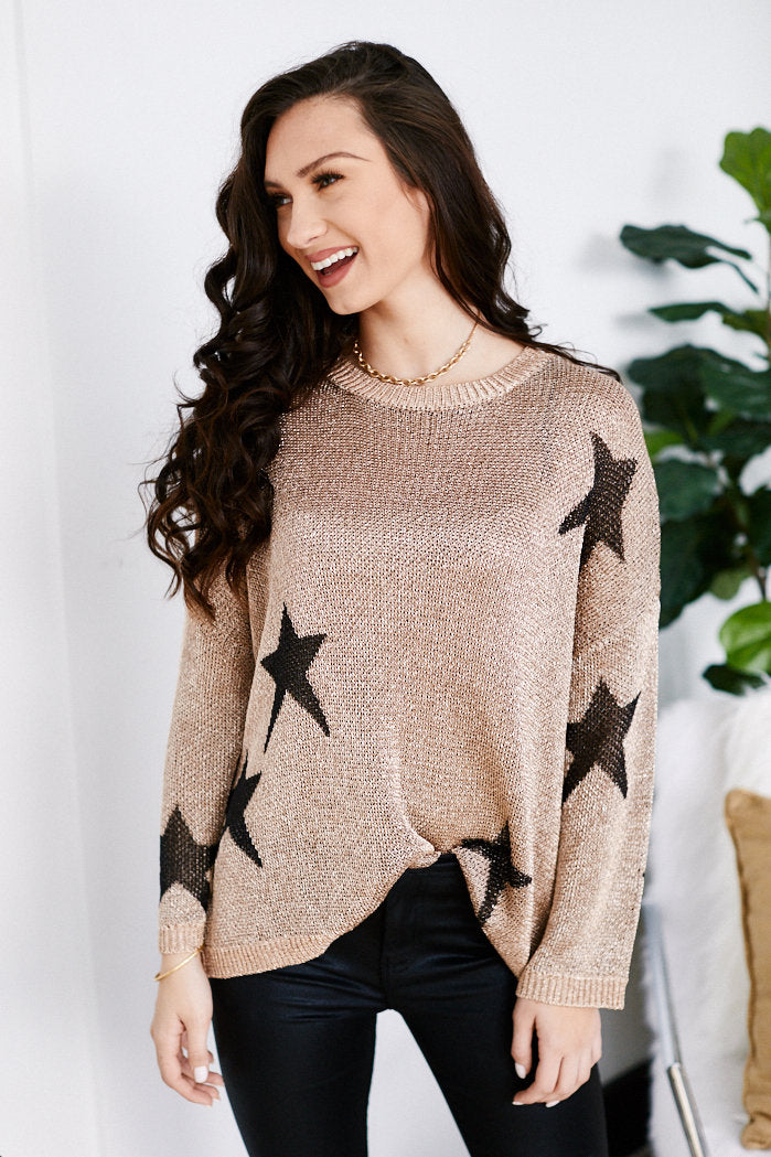 fab'rik - Garland Chain Detail Star Sweater ProductImage-13571561488442