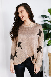 fab'rik - Garland Chain Detail Star Sweater ProductImage-13571561553978