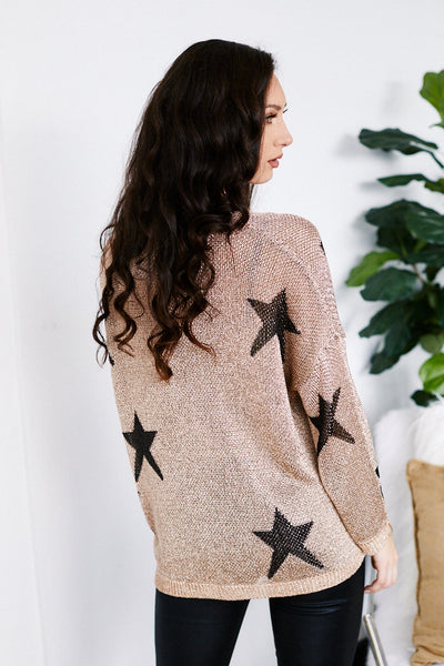 fab'rik - Garland Chain Detail Star Sweater image thumbnail