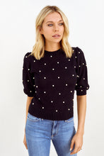 Load image into Gallery viewer, Tiggy Pearl Detail Sweater