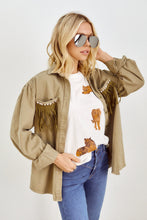 Load image into Gallery viewer, SALE - Marlana Fringe Detail Jacket