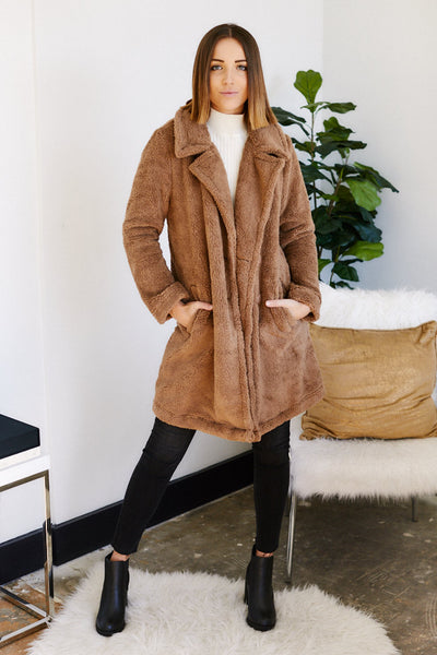 fab'rik - Z Supply Cozy Sherpa Coat image thumbnail