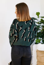 Load image into Gallery viewer, Roselle Animal Print Sweater