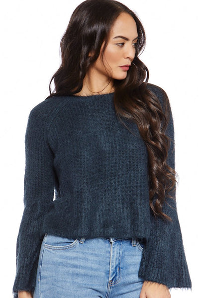 fab'rik - Emery Bell Sleeve Sweater image thumbnail