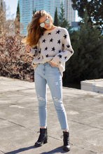 Load image into Gallery viewer, Millie Star Printed Sweater