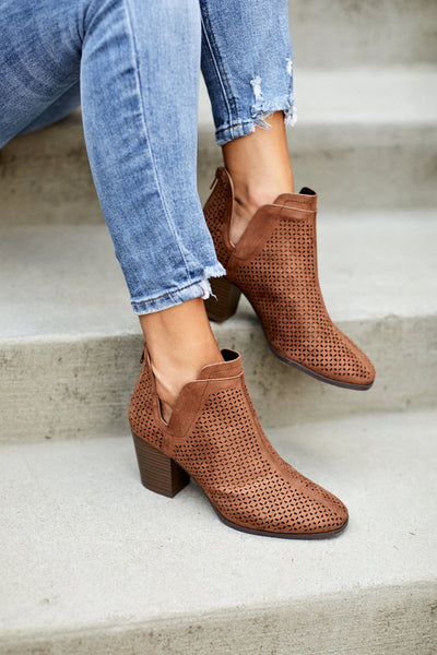 fab'rik - Celine Perforated Bootie image thumbnail