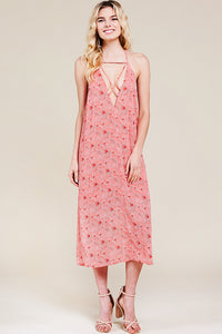 PreOrder Jolene Printed Midi Dress