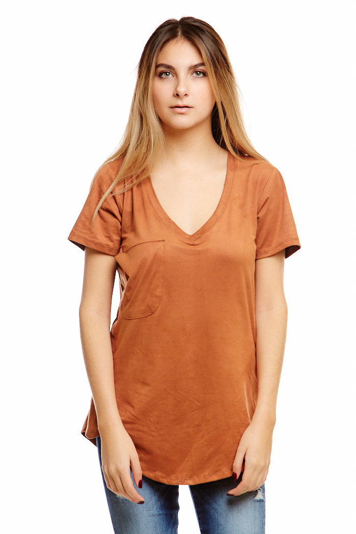 fab'rik - Z SUPPLY SUEDE POCKET TEE ProductImage-4613614927930