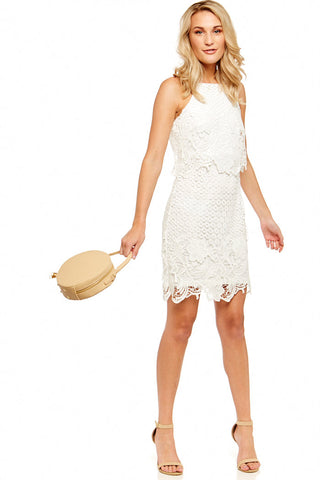 BB DAKOTA BRYN LACE DRESS