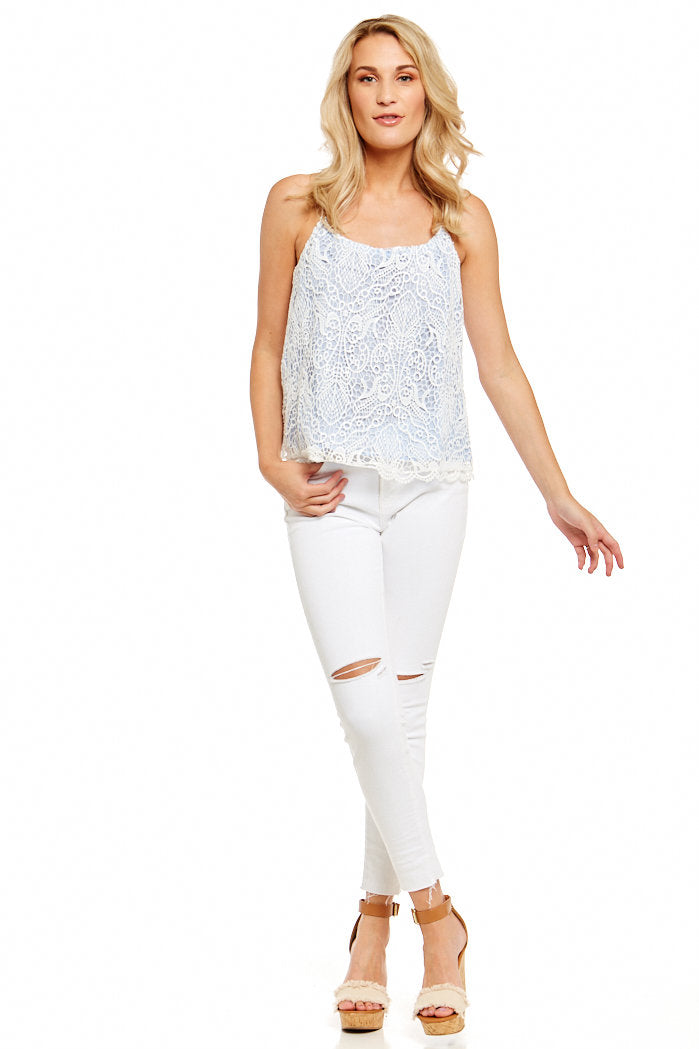 fab'rik - BB DAKOTA NORELLE LACE TOP ProductImage-5176690016314