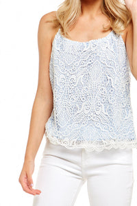 BB DAKOTA NORELLE LACE TOP