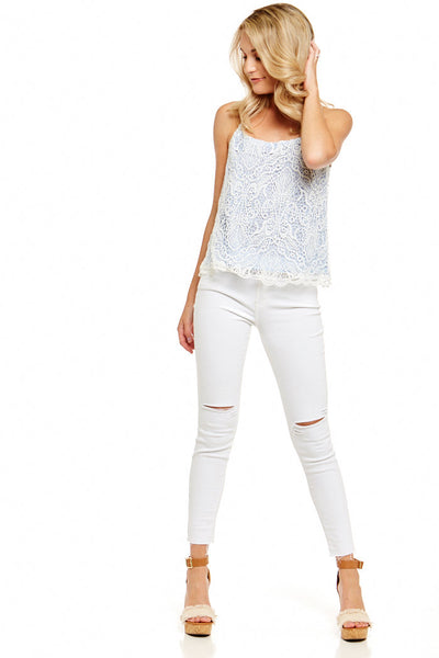 fab'rik - BB DAKOTA NORELLE LACE TOP image thumbnail