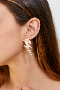 fab'rik - Sara Threaded Lightening Bolt Earrings ProductImage-13303288004666