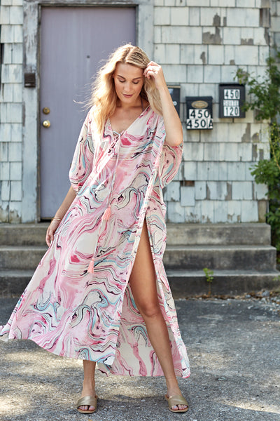 fab'rik - BUDDY LOVE TORTOLA MARBLE COVER UP image thumbnail