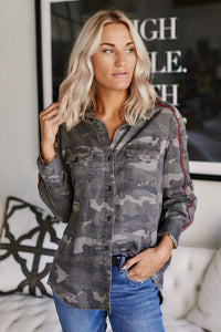 fab'rik - Mae Camo Button Down Top ProductImage-11465478438970