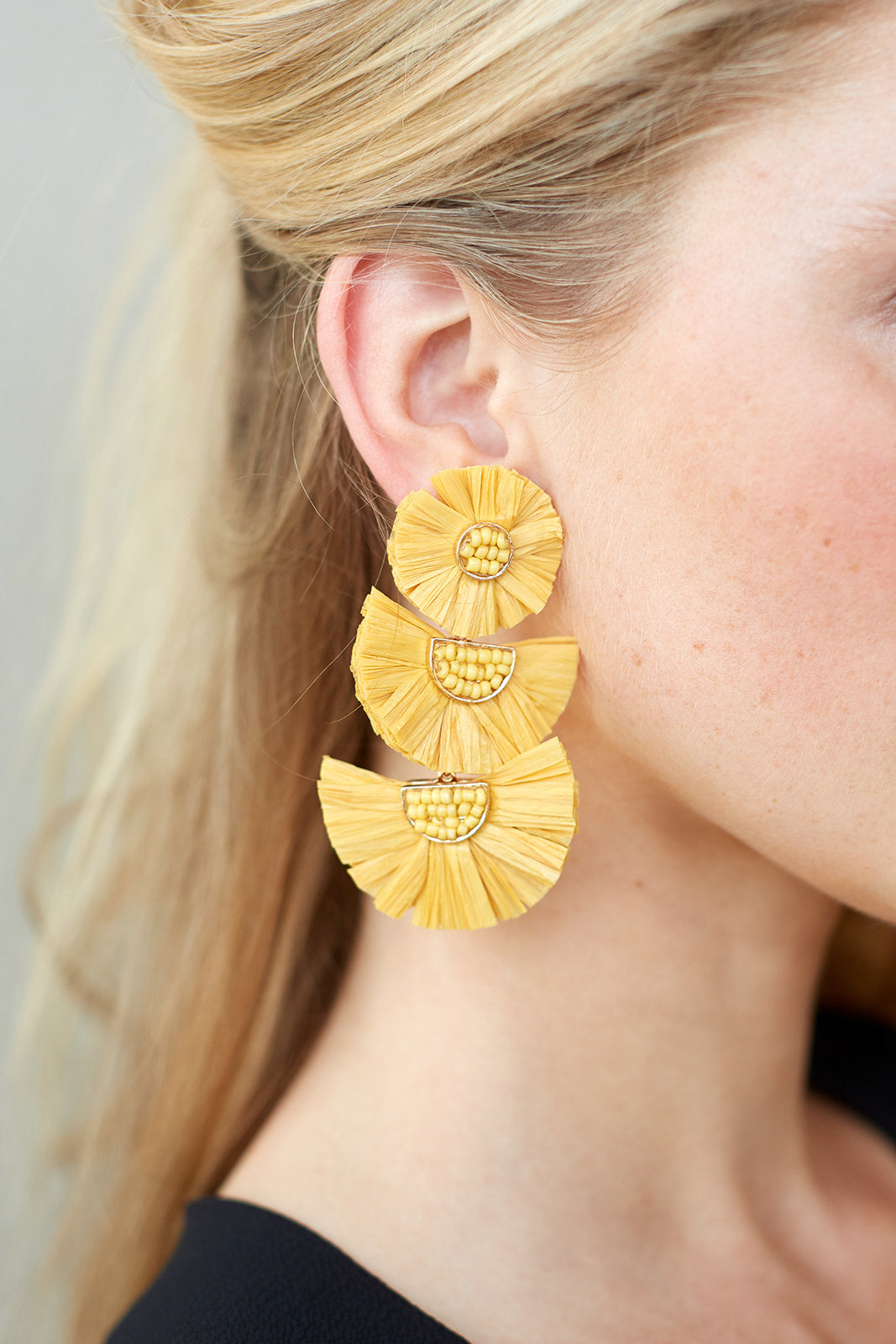 fab'rik - MARI RAFFIA EARRINGS ProductImage-4619313872954