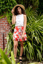 Load image into Gallery viewer, ASHER FAITH SKIRT IN RED