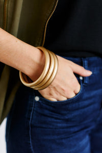Isabella Three Stack Bracelet