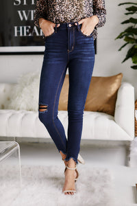 BRIXLEY SUPER DARK DENIM - DARK WASH - 13