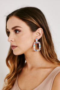 Morgan Colorful Jeweled Earrings
