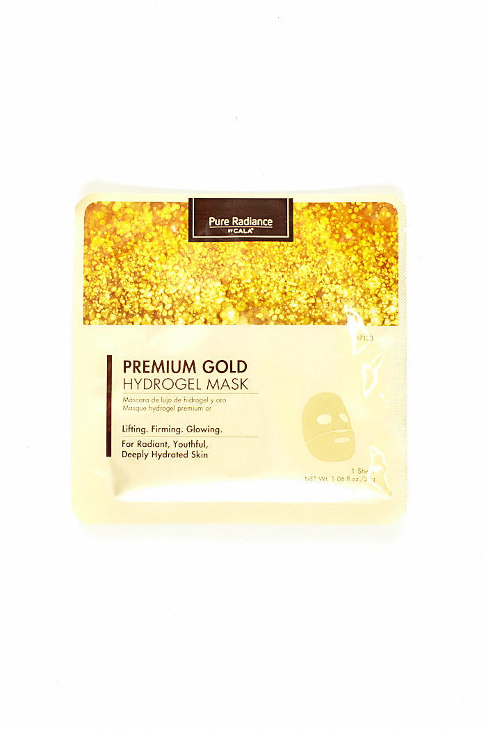 fab'rik - PURE RADIANCE PREMIUM GOLD HYDROGEL MASK ProductImage-4617848946746