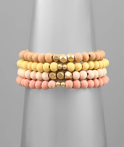 fab'rik - June Wood Stack Bracelet image thumbnail