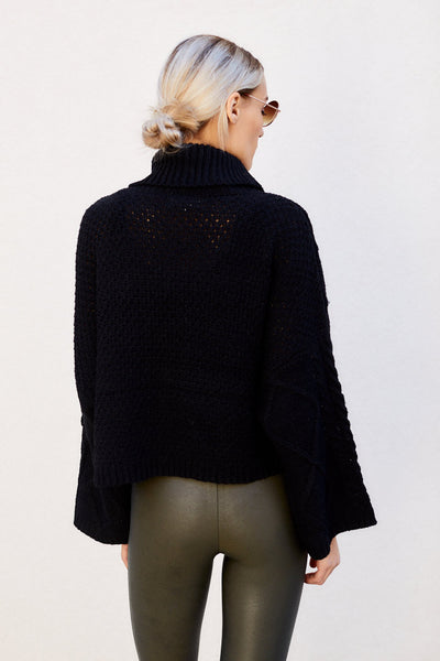 fab'rik - Caroline Cropped Turtleneck Sweater image thumbnail