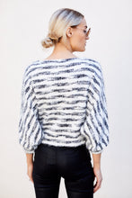 Load image into Gallery viewer, Dream Striped Cropped Sweater