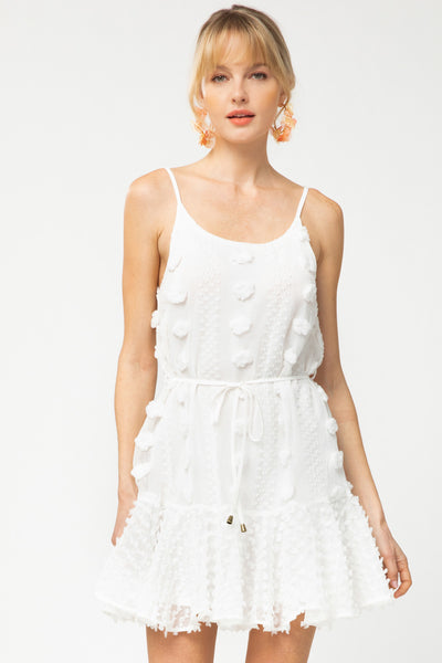 fab'rik - Arlena Pom Pom Sleeveless Dress image thumbnail