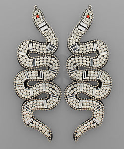 Mia Snake Earrings