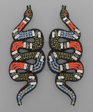 Load image into Gallery viewer, Mia Snake Earrings