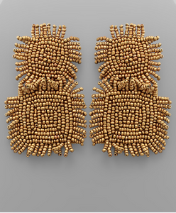 fab'rik - Beaded Square Earrings ProductImage-13567725469754
