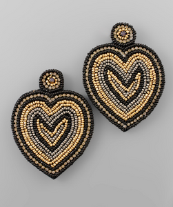 fab'rik - Beaded Heart Earrings ProductImage-13567668191290