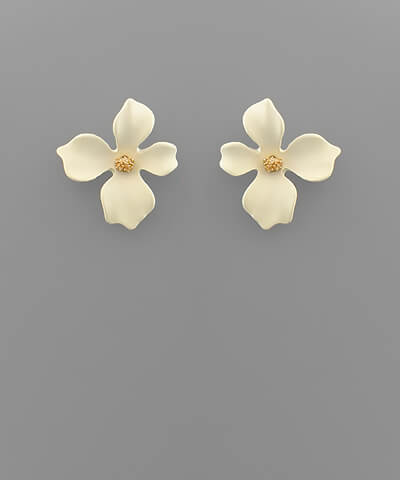Maggy Small Floral Studs