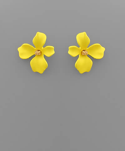 fab'rik - Maggy Small Floral Studs ProductImage-13849925124154
