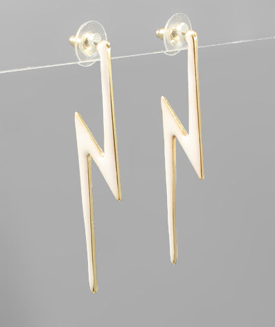 Riley Lightening Bolt Earring