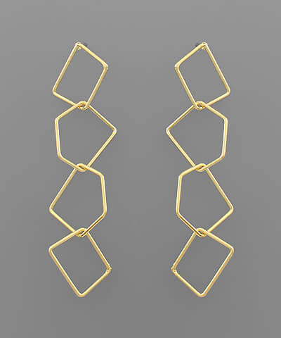 fab'rik - Circle Dangle Earring ProductImage-13849876725818