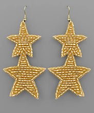 Load image into Gallery viewer, Sequin Star Earrings