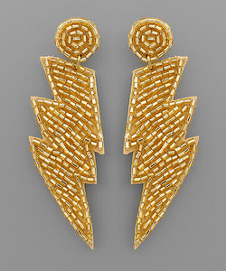 fab'rik - Sequin Lightning Bolt Earring ProductImage-13849800966202