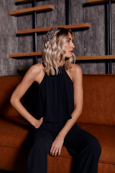 fab'rik - Sacha High Neck Jumpsuit image thumbnail