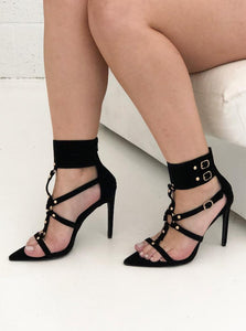 Laurent Studded Heel