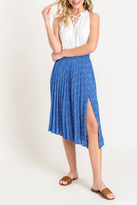 PreOrder Lavina Pleated Midi Skirt