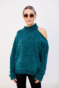 fab'rik - Mel Cut Out Chenille Sweater ProductImage-13531461156922