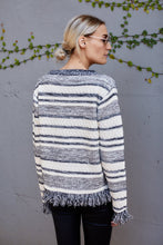 Load image into Gallery viewer, Maisie Fringe Detail Sweater