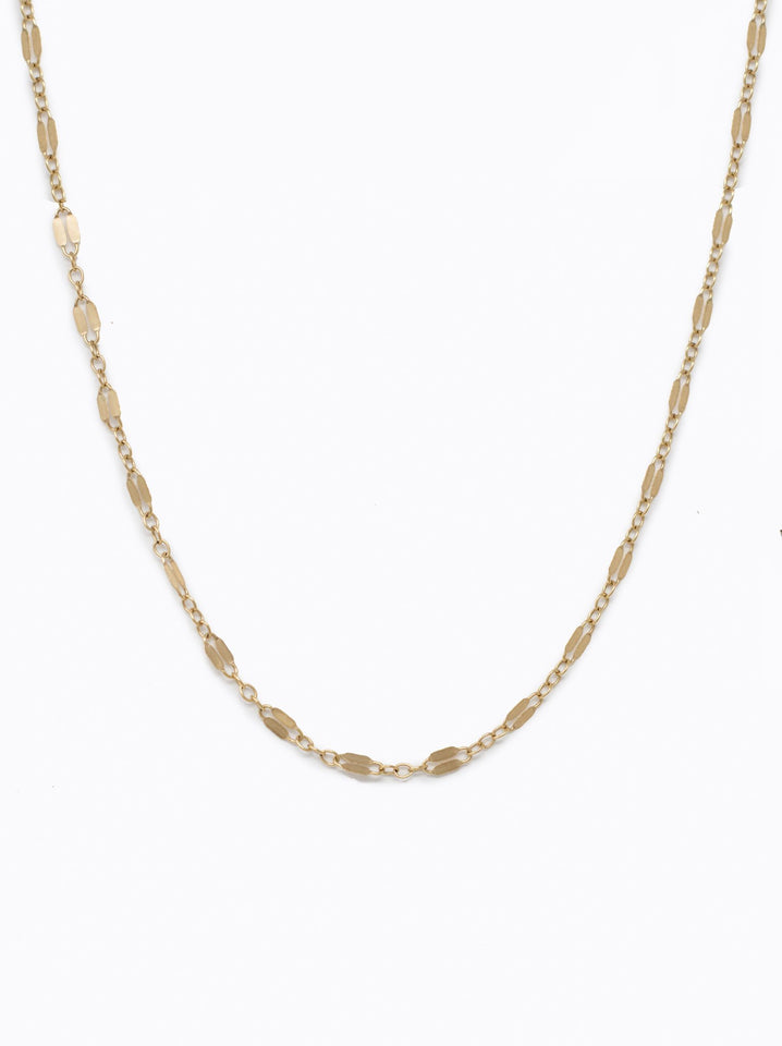 Metal Link Choker: Gold
