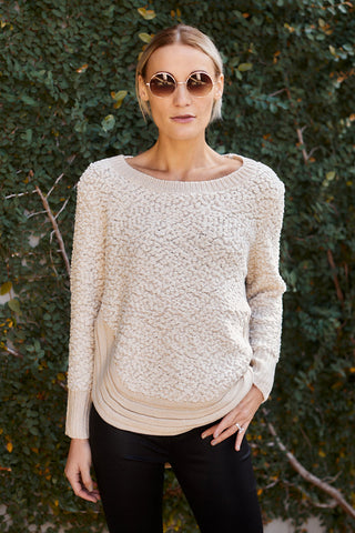 North Round Hem Sweater