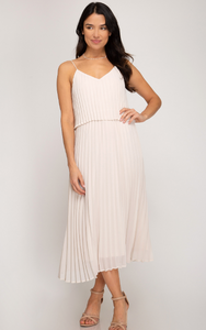 PreOrder Rory Pleated Midi Dress