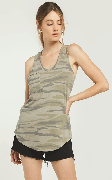 fab'rik - Z Supply Camo Tank ProductImage-13750677569594